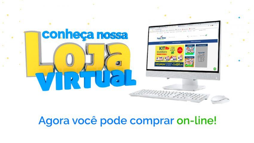 Conheça a nossa nova Loja Virtual – Super Mídia on-line