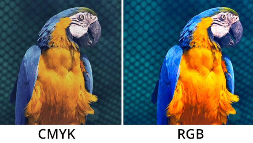 Diferenças entre RGB e CMYK